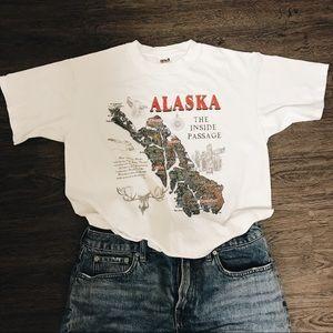 NEW Vintage Alaska Tee Shirt
